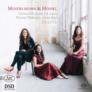 CD-Cover: Mendelssohn & Hensel, Duette